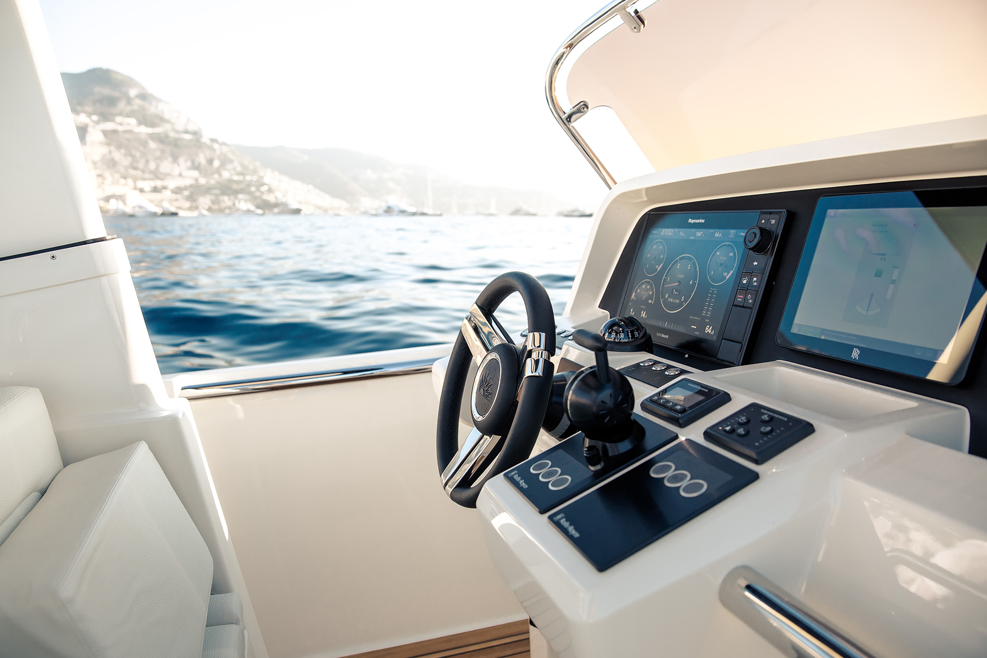 Superyacht Tender Console