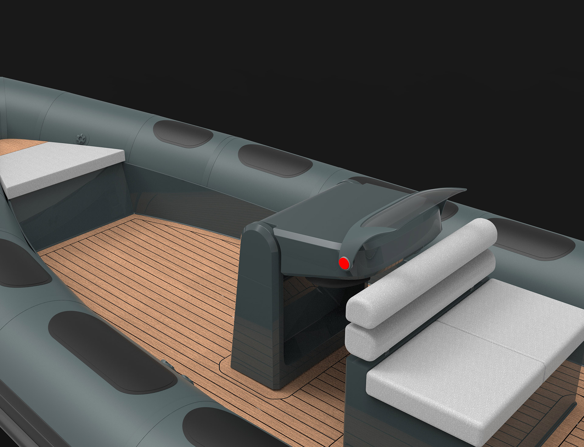 Foldable Console Crew Tender
