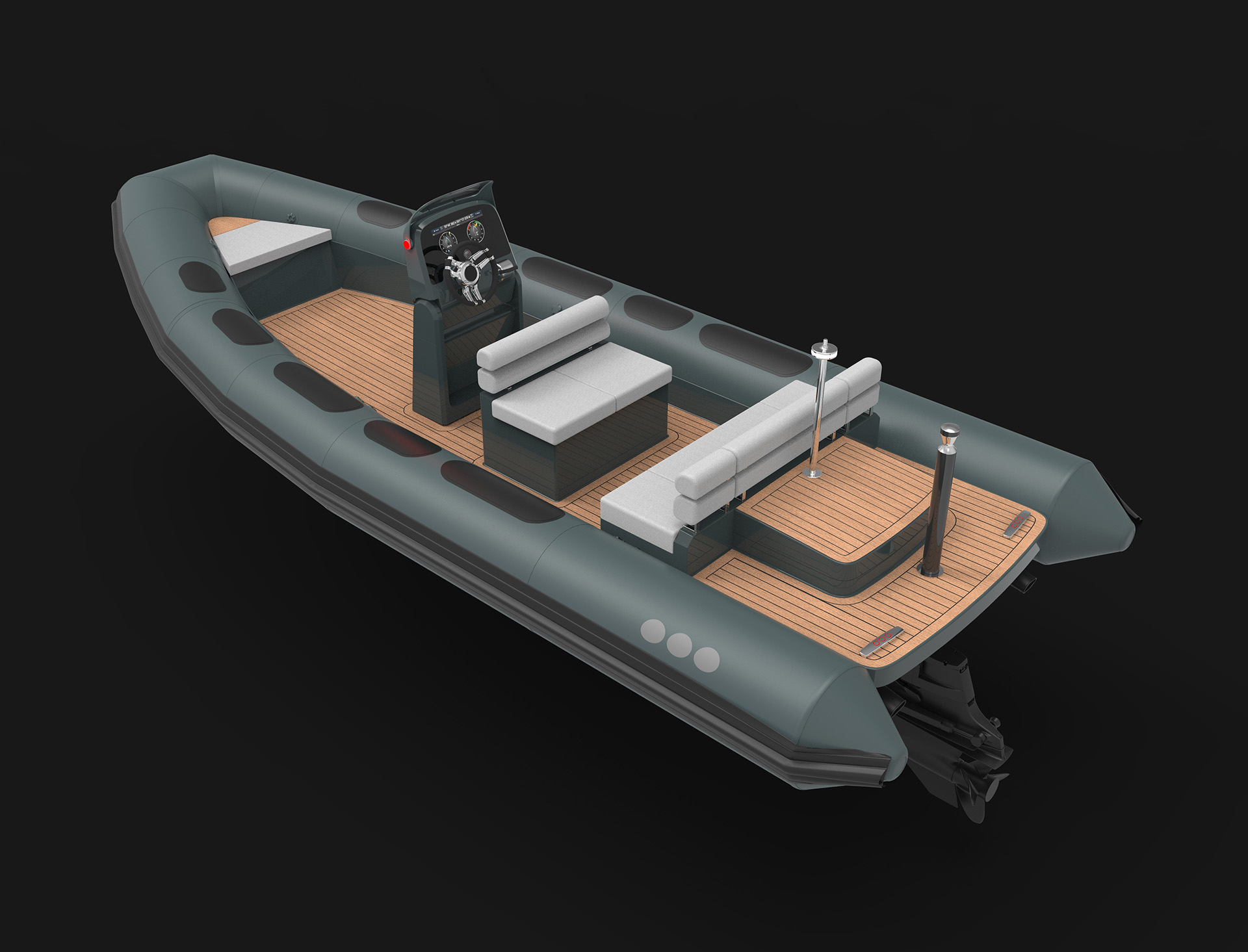 Crew Tender Superyachting