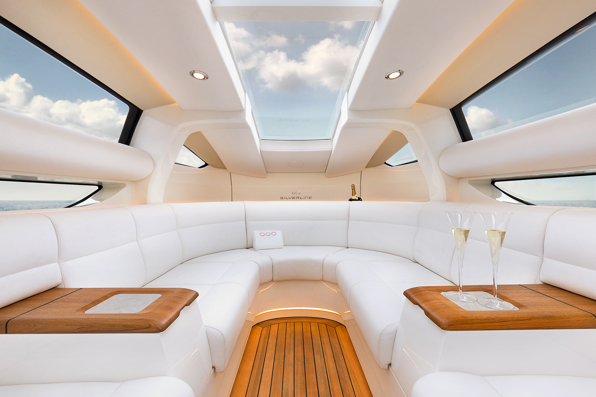 Superyacht Tenders Aft Helm Station Interior