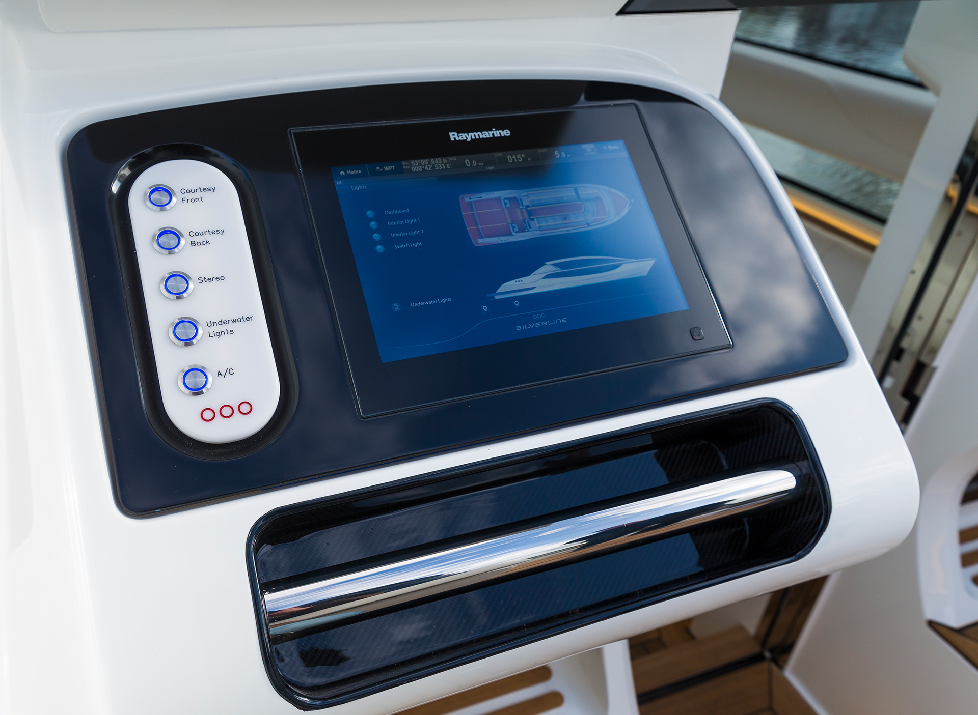 Silverline Aft Helm Station Console