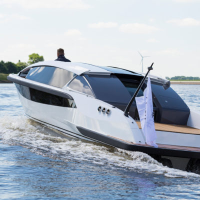 Superyacht Tender Front Drive Limousine Silverline