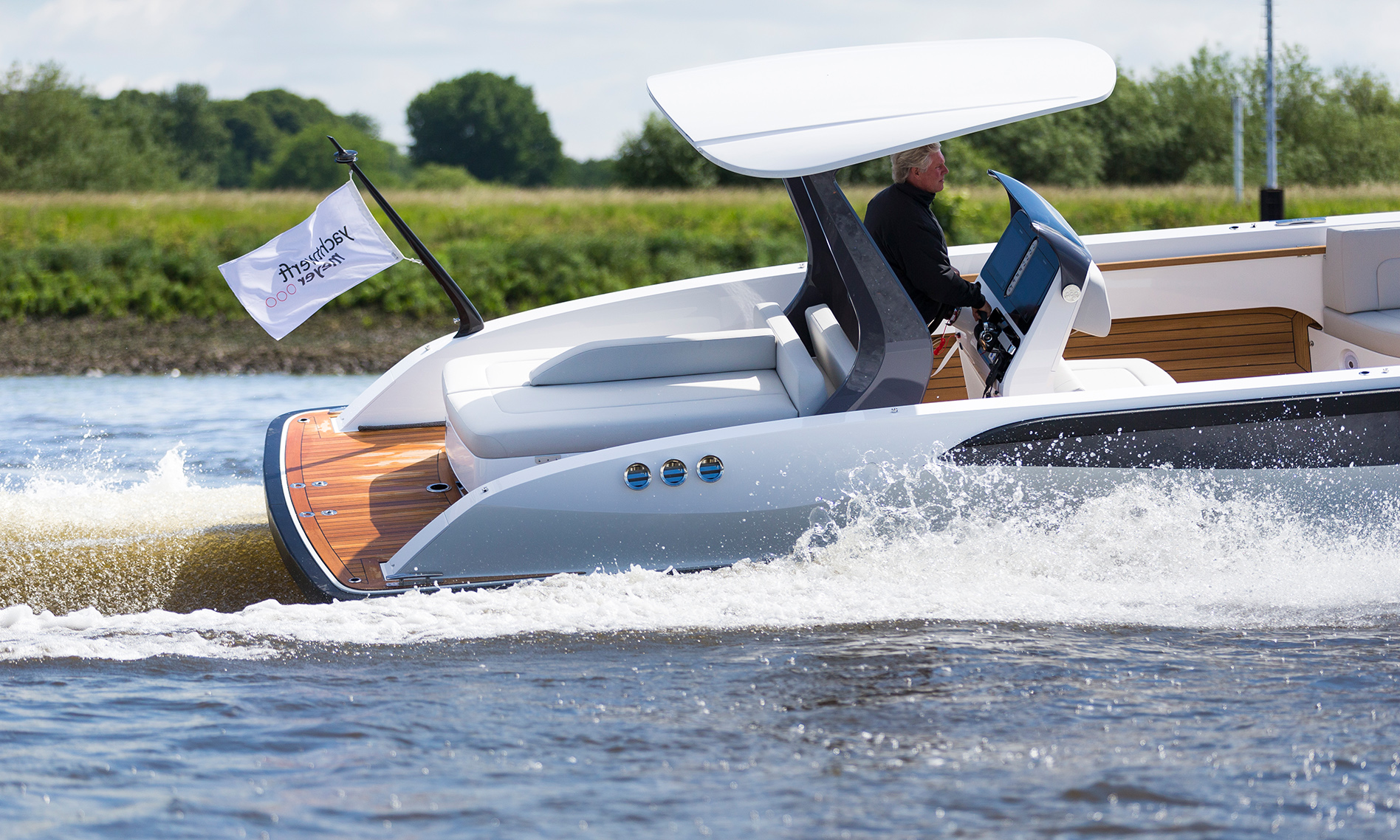 Open Tender Silverline Yachtwerft Meyer